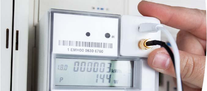 Digitaler Stromzähler mit OVAG powerfox