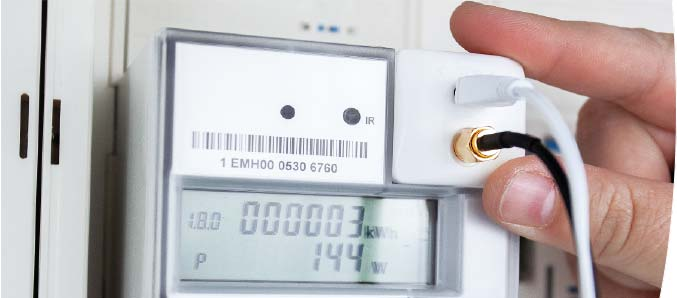 Optokoppler Stromzähler
