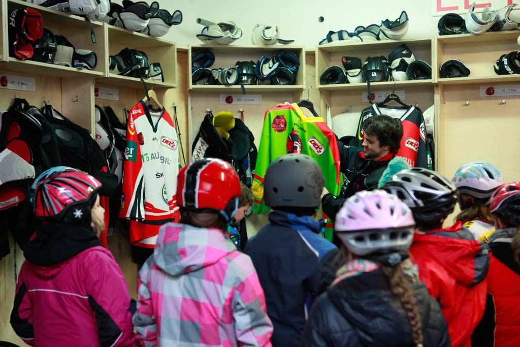 Tipps vom Eishockey-Profi für Kinder