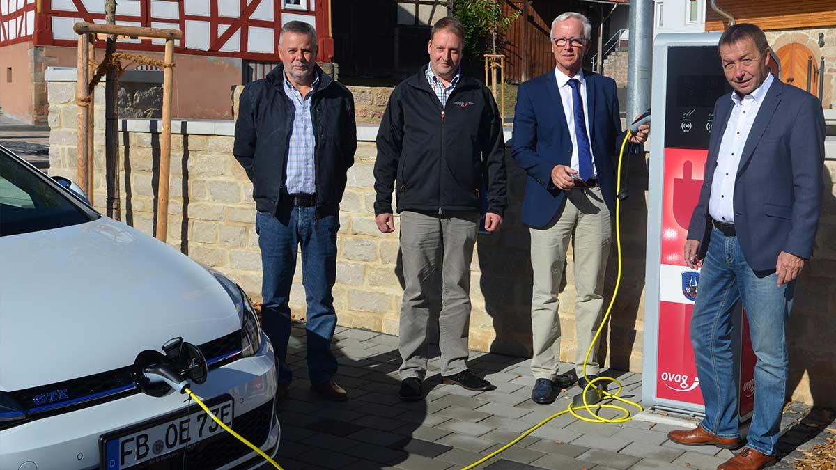 Elektroauto laden in Kirtorf