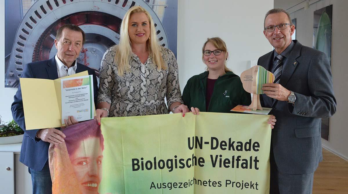 UN zeichnet OVAG-Naturschutzprojekt aus.