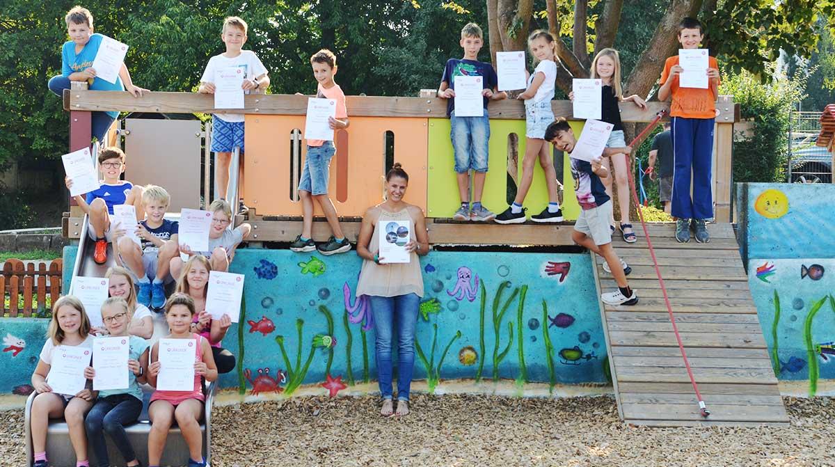 Klasse 4a der Selzerbachschule in Karben