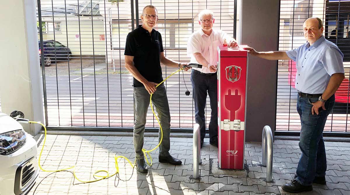 Ladestation für Elektroautos in Gedern