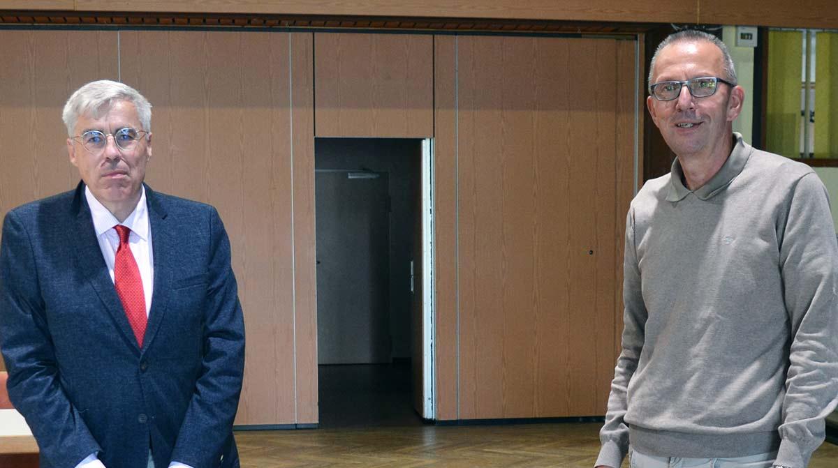 Prof. Michael Reinhardt und Joachim Arnold
