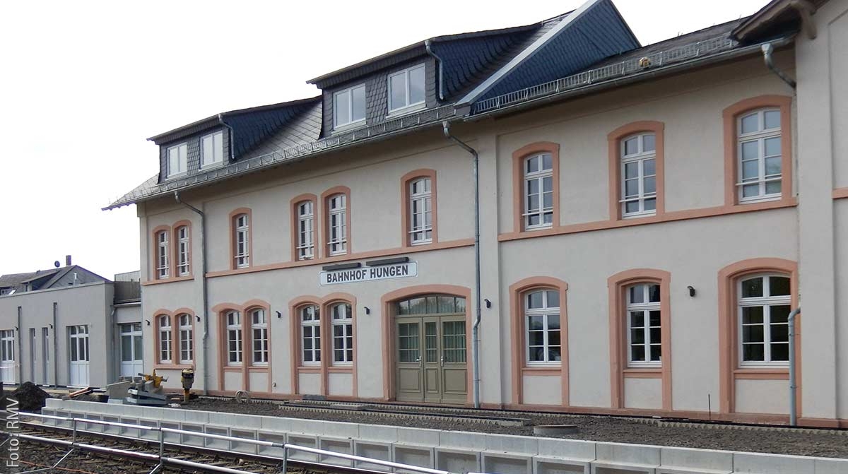 Bahnhof Hungen
