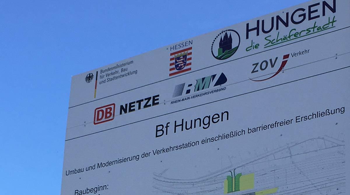 Modernisierung Bahnhof Hungen
